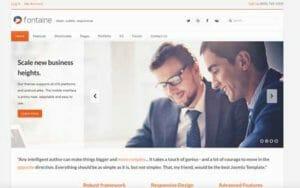 Joomla Website Development example